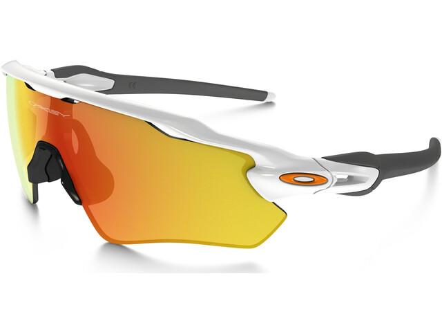 Oakley Radar EV Path Sunglasses polished white/fire iridium